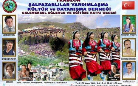 Trabzon Şalpazarlılar Dernek Gecesi