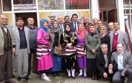 Trabzon'un Ayşesi Ağasar kıyafeti giydi