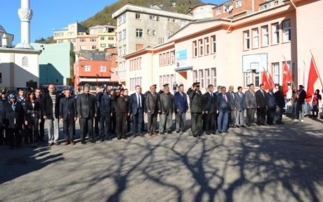 Ulu Önder Atatürk Törenlerle Anıldı.
