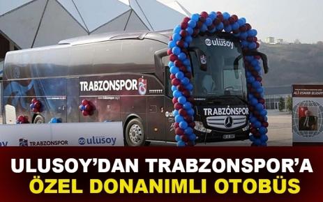 Ulusoy'dan Trabzonspor'a özel donanımlı otobüs