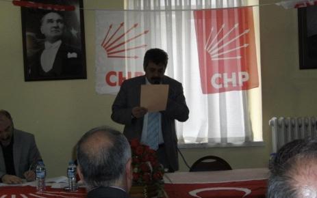 Ünal Özen CHP İlçe Başkanı Oldu