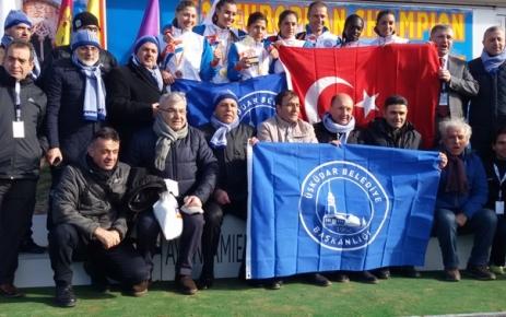 Üsküdar Belediyesi Avrupa Kros Şampiyonu Oldu.