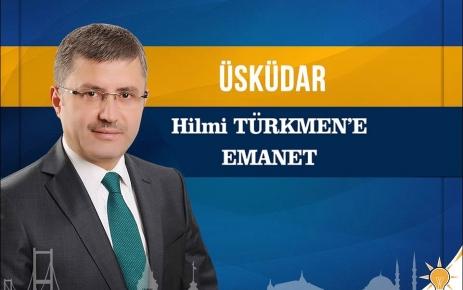 Üsküdar Hilmi Türkmen Dedi.