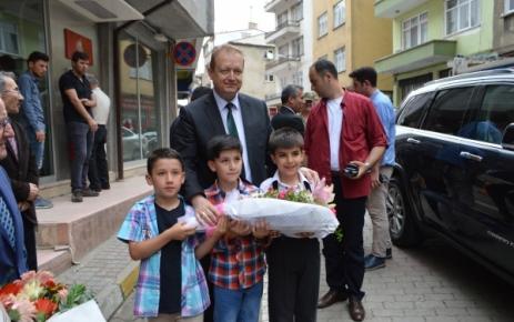 Vali Yavuz Şalpazarı'nı Ziyaret Etti