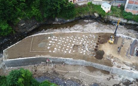 Yeni hizmet binası inşaatı tüm hızıyla devam ediyor.